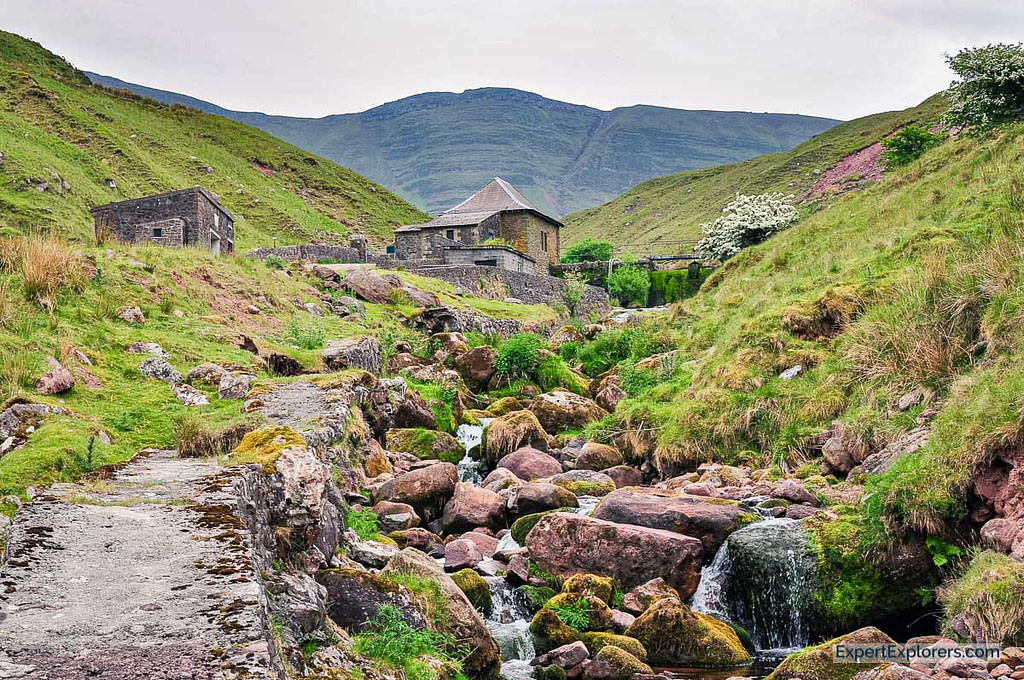 Llyn y Fan Fach Water Station, Brecon Beacons National Park, Wales