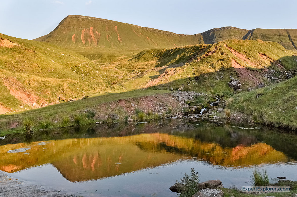 Llyn y Fan Fach Sunset, Brecon Beacons National Park, Wales