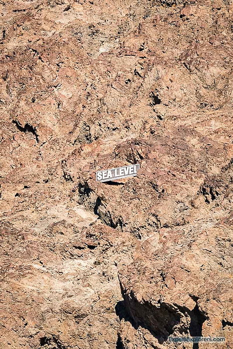 Sea Level Sign, Badwater Basin