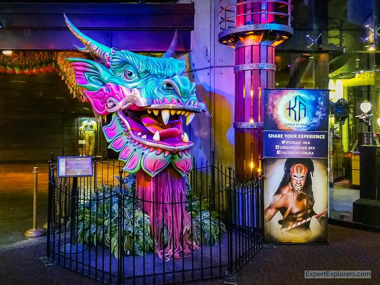 KA by Cirque du Soleil, MGM Grand, Las Vegas