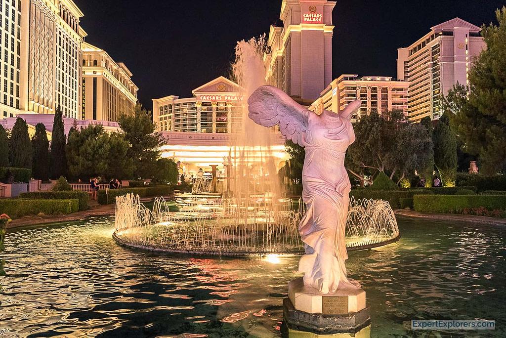 Fountain at Caesars Palace, Las Vegas