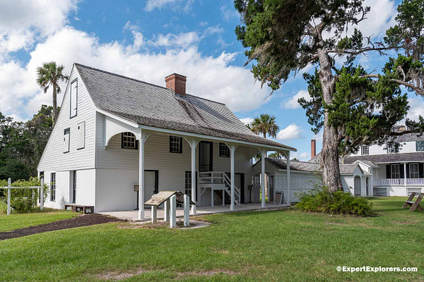 Kingsley Plantation House, Fort George Island State Park