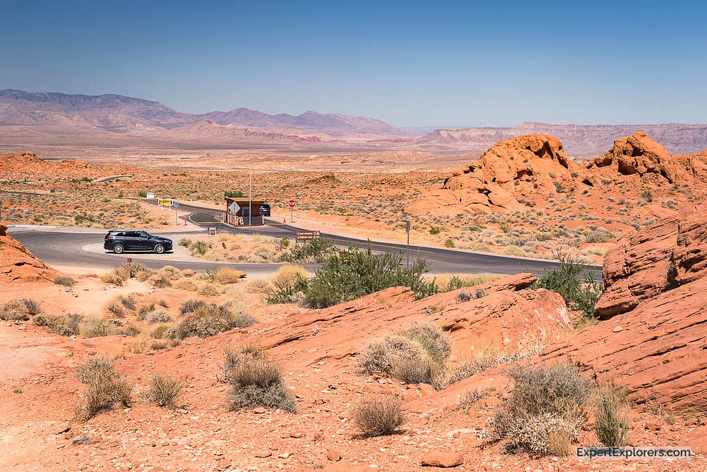 East Entrance Station Valley of Fire State Park Nevada