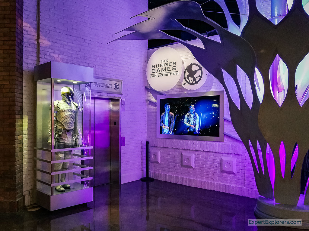 The Hunger Games Exhibition, MGM Grand, Las Vegas