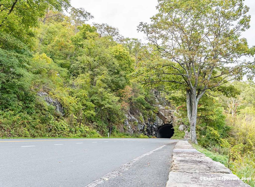 Tunnel in the Shenandoah National Park, Virgina