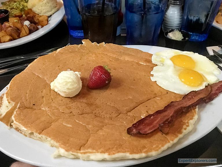 Hash House A Go Go, giant pancake.