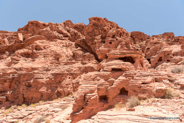 Valley of Fire rock sculpture