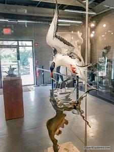 Common Tern sculpture by Grainger McKoy