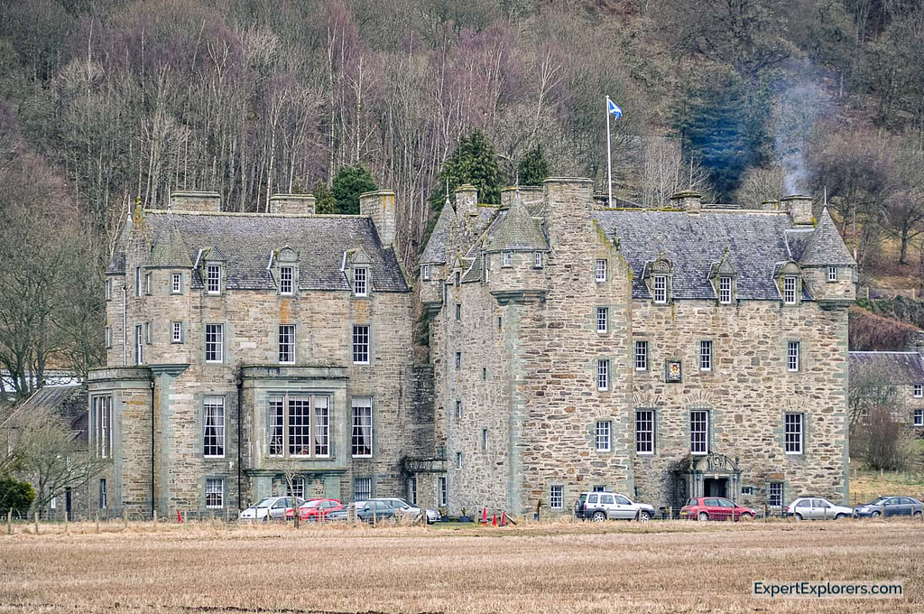 Castle Menzies from the outside, Scotland