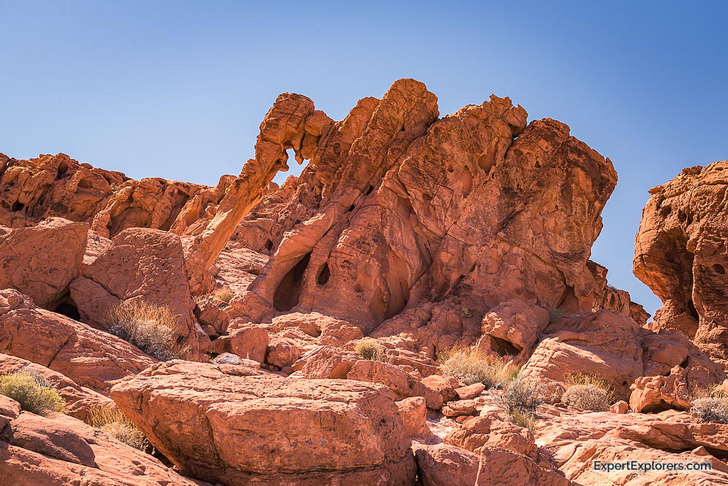 Elephant Rock at Valley of Fire State Park, Nevada