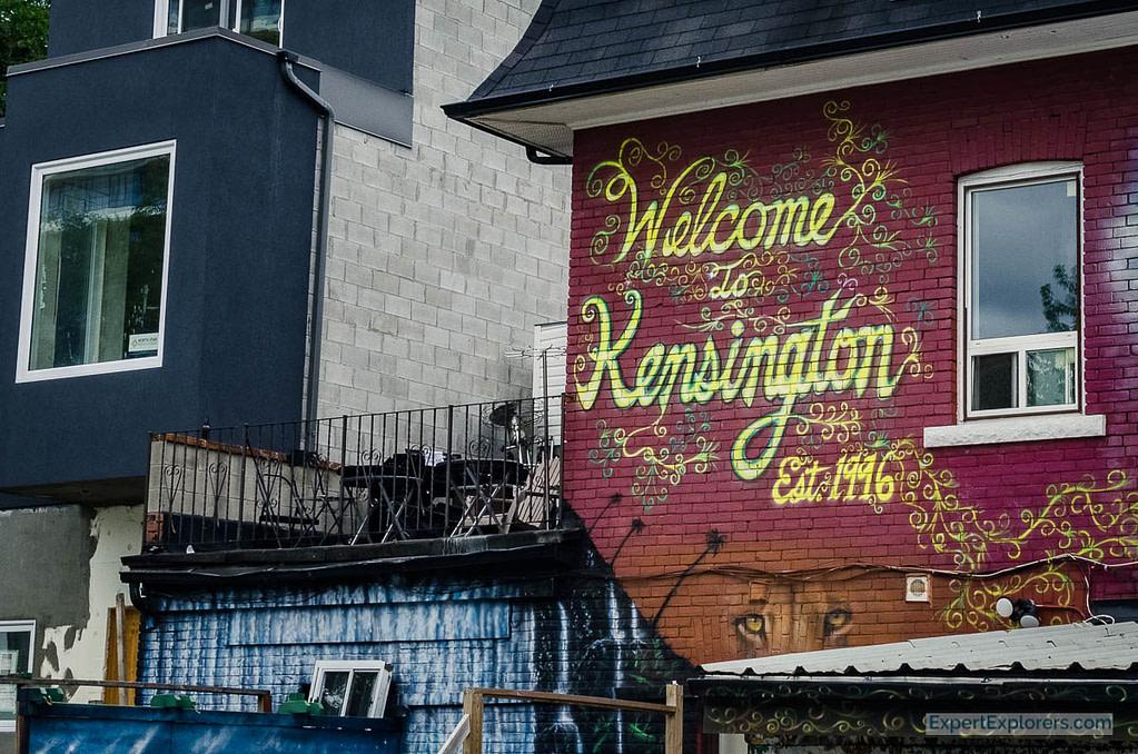 Welcome to Kensington Graffiti, Toronto Weekend, Canada