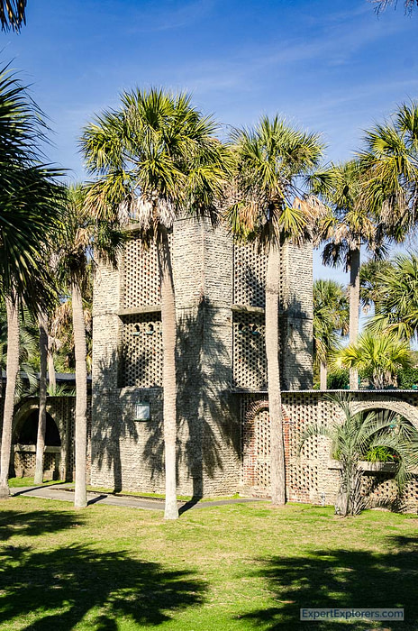 Huntington Beach State Park at Murrells Inlet Atalaya Castle water tower