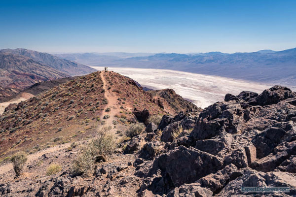 Dantes View walking trail, Death Valley National Park