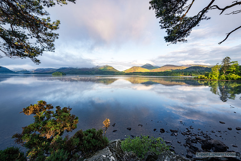 Derwentwater Morning in the Lake District England