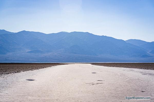 Salt walkway at Badwater Basin, Death Valley National Park