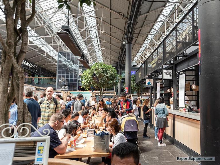The Kitchens Food Market at Spitalfields