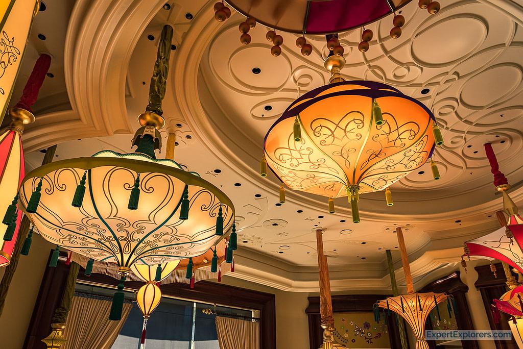 Asian Chandeliers in the Wynn Hotel, Las Vegas