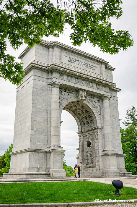 National Memorial Arch at Valley Forge National Park, Pennsylvania