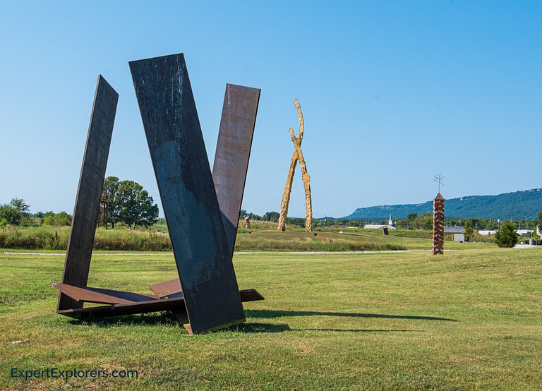 Sculptures at Montague Park, Chattanooga