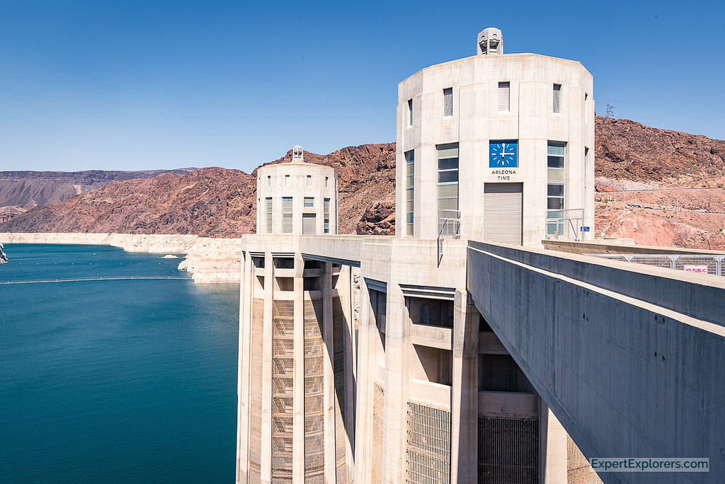 Intake Tower, Hoover Dam, Arizona