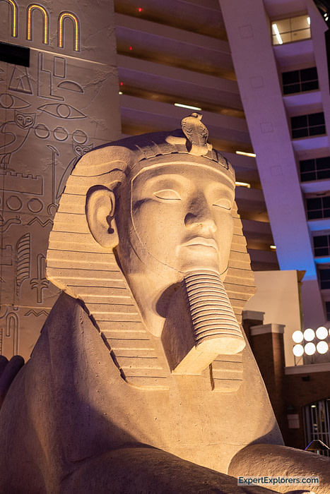 The Sphinx at the Luxor Hotel and Casino, Las Vegas