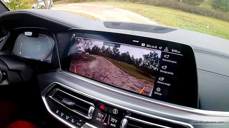 BMW X5 Forward Facing Camera View