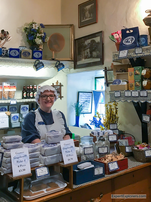 Sarah Nelson's Grasmere Gingerbread Shop in the Lake District England
