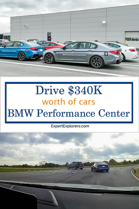 BMW Performance Center Pinterest Pin