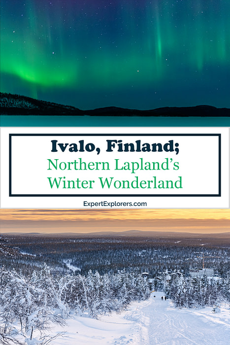 Ivalo Finland Pinterest Pins