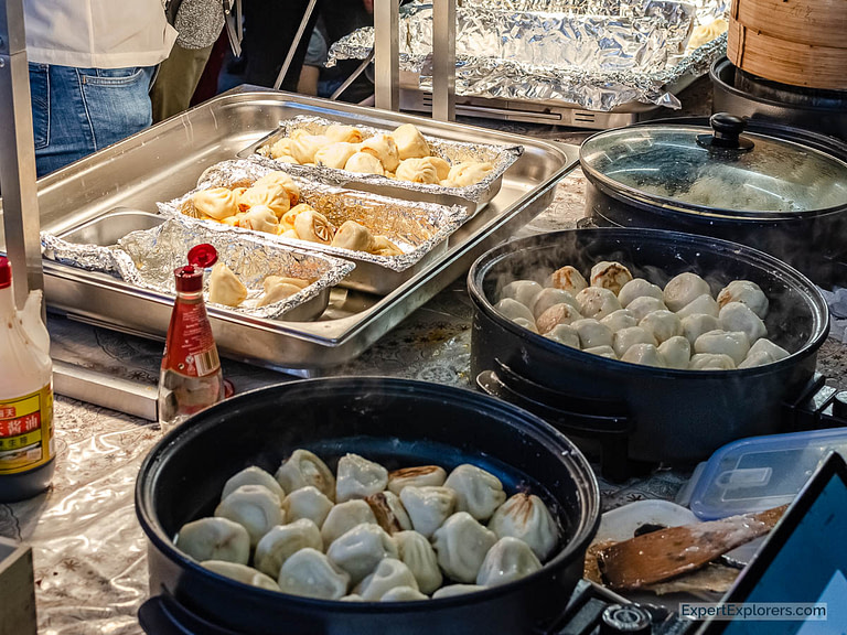 Steamed Dumplings in the Sunday UpMarket London
